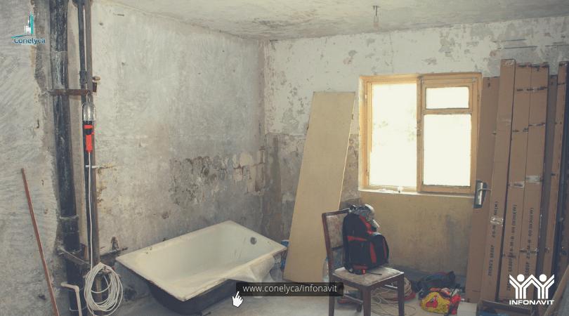 Remodelar con infonavit y comprar casa conelyca for Como remodelar una casa de infonavit